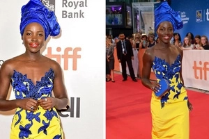 People are claiming Lupita Nyongo's behind has grown by eating Ugali (photos)