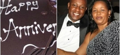 Nairobi Deputy Governor treats wife during wedding anniversary and isn't he romantic?