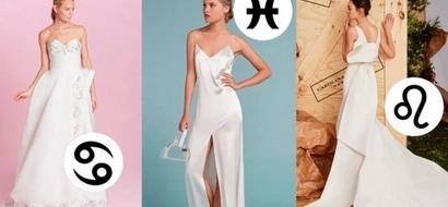 Qué vestido de novia deberías usar en base a tu signo zodiacal