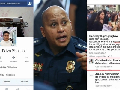 Huli ka sir! Bato warns to kick out police from service after sexually harassing anti-Marcos protester online