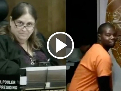 Suspect twerks in court and waves to his mom, but judge's reaction is priceless!