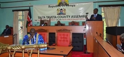 Taita Taveta MCAs in ugly fist fight during Peoples Assembly motion debate