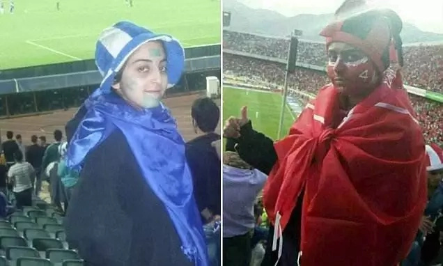 8 women ARRESTED for dressing up as men because they wanted to watch football match (photos)