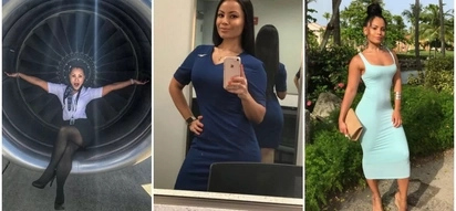 Flight attendant bae! Meet GORGEOUS lady who is setting social media on fire (photos)