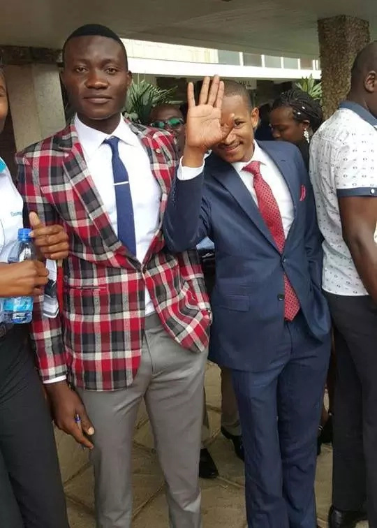 Photos: Babu Owino, Mike Jacobs resolve their differences