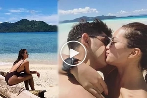 Sarah Lahbati and their romantic weekend on Fiji with Richard Gutierrez
