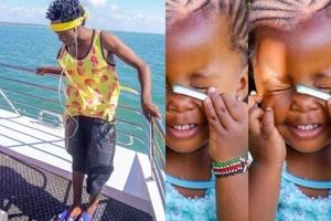 5 photos that prove baby Mueni is gospel singer Bahati's REAL daughter