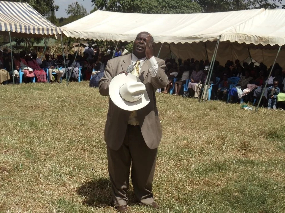 Meet veteran Kalenjin pastor whose composed a song for Raila, angering Jubilee supporters