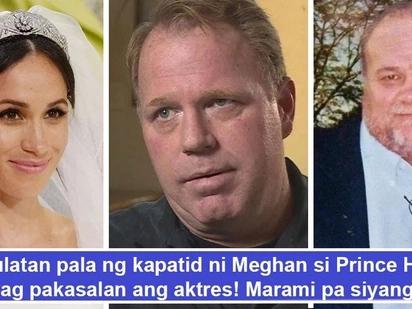 May rason pala! Meghan Markle may nakakagulantang na mga dahilan kung bakit di imbitado ang pamilya sa royal wedding maliban sa nanay