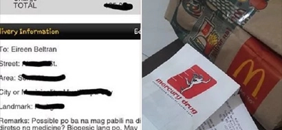 Nakakatouch! McDonald's delivery buys sick customer medicine will restore your faith in humanity