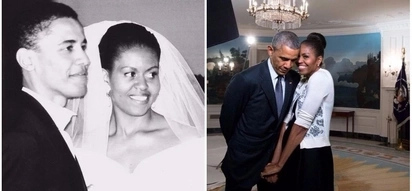 Barack and Michelle Obama mark their 25th wedding anniversary and their messages to each other are adorable