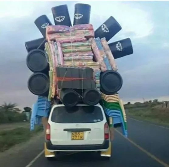 This is how a Probox in Kenya 'behaves'
