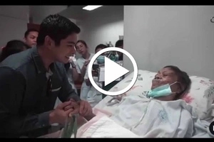 Must Watch! Coco Martin made this Old Lady's Wish Come True