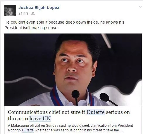 Netizens react to Duterte's threat to leave UN