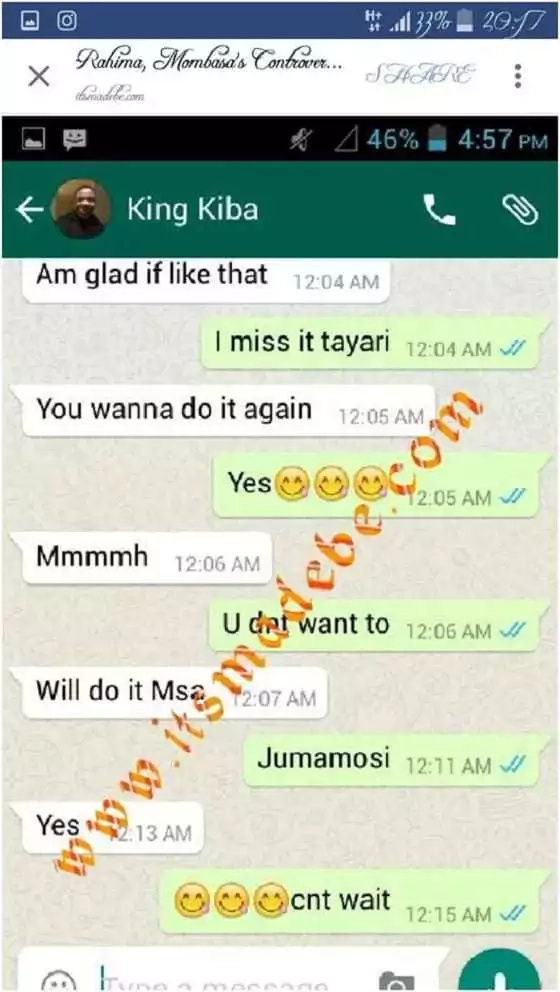 Msichana wa Mombasa aliyelipa ili kuoga na Ali Kiba