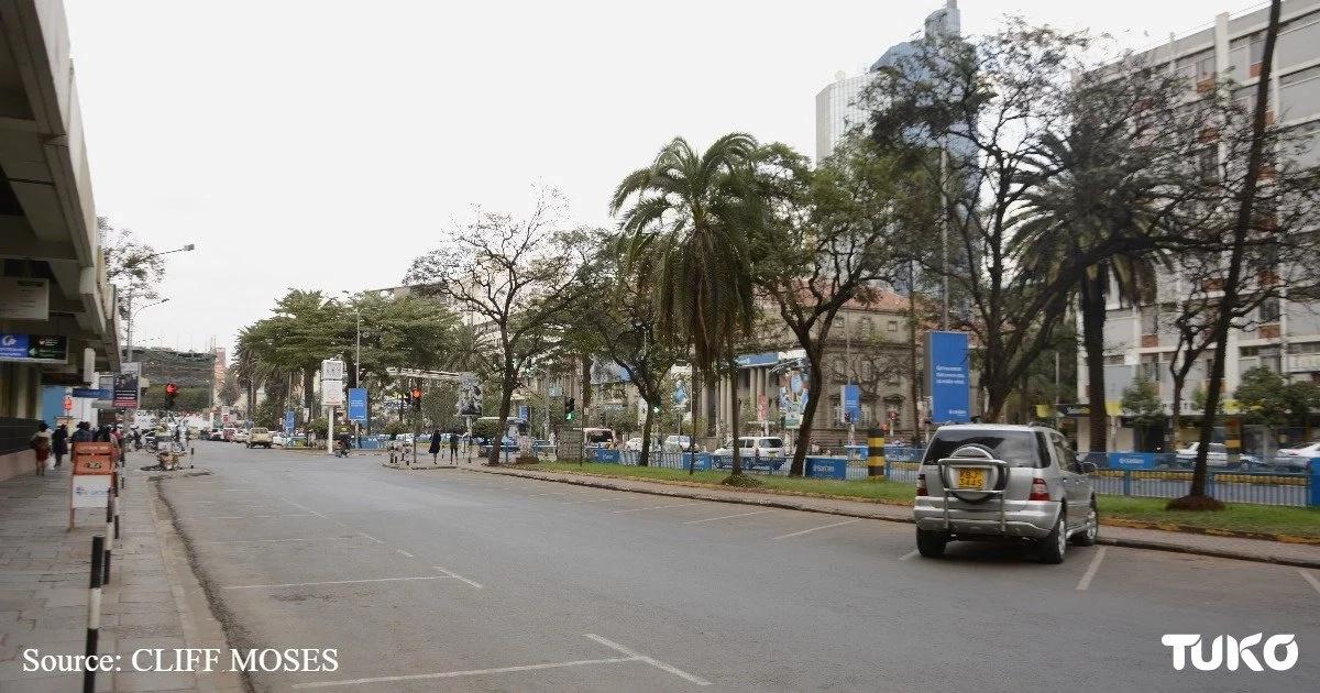 24-hour economy on hold: Eerie photos of the empty Nairobi streets
