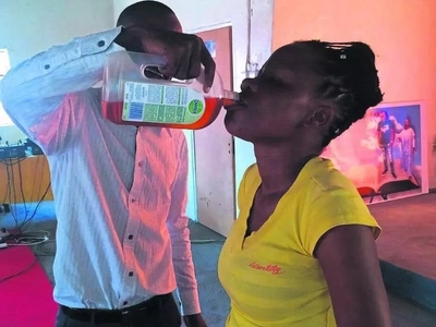 Church finds new uses for Dettol...