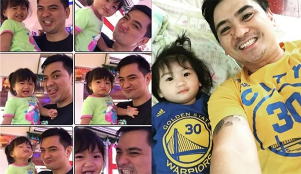 Wowie de Guzman chose to focus on his daughter than coming back to showbiz! He looks so happy with his choice