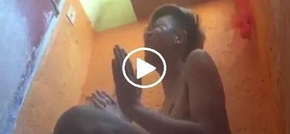 Kabahan na si Bruno Mars! Watch how Marlou sang Versace on the Floor inside bathroom