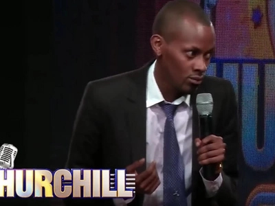 Churchill Show comedian injured by thugs in broad daylight