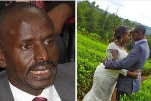 Has Sossion dumped his newly married wife? He speaks