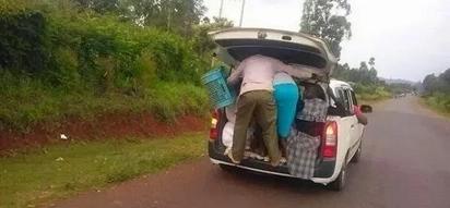 Madereva wa magari ya PROBOX waandamana na kufunga barabara kuu (picha)