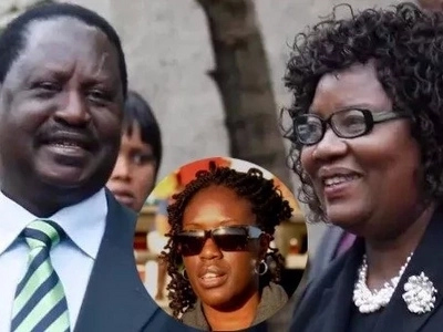 Raila rubbishes closure of accounts belonging to his daughter which had KSh 0.5 billion