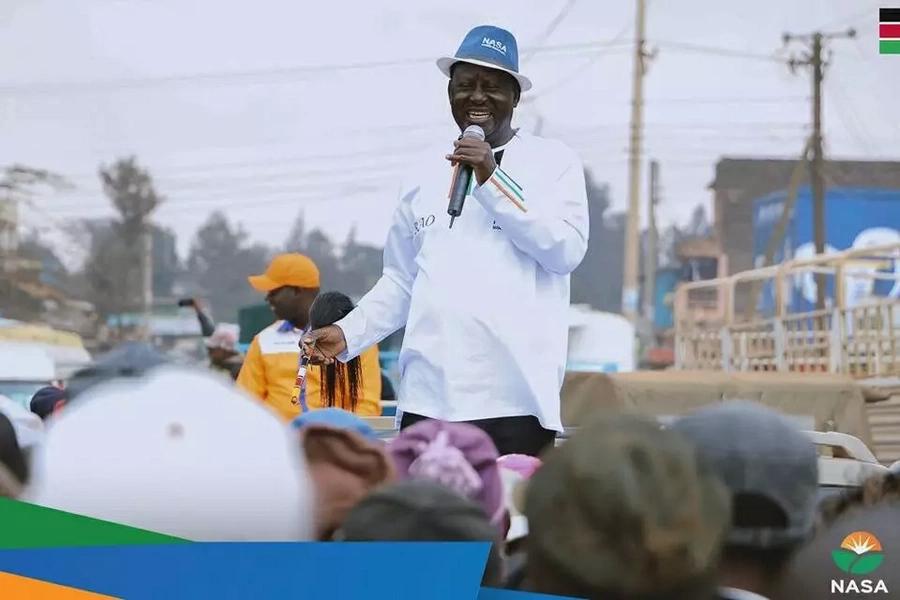 Uongozi ni maarifa si ujana,Raila amjibu Uhuru
