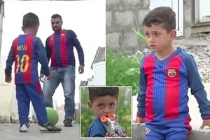 """TOO UNISLAMIC""... Family of Yazidi boy called Messi was forced by ISIS to change his name (photos, video)"