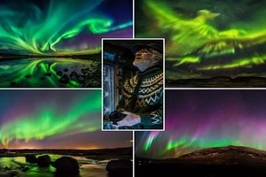 Place on Earth where Jesus reveals himself! See amazing place with DAZZLING lights in sky (photos)