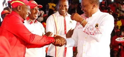 Joy and denial in equal measure from Kenyans after Uhuru is announced winner of repeat Presidential poll