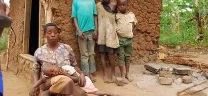 Ugumu wa MAMA asiyeona kuwalea watoto (picha)