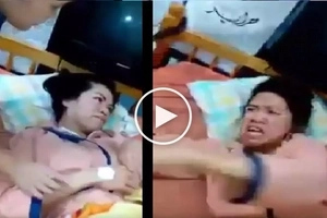 Sinaniban daw! Fearful netizen shares video of 'demon-possessed' OFW