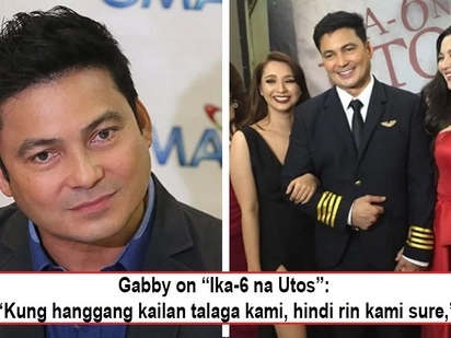 Inaantay nlang daw kailan siya pakakawalan? Gabby Concepcion looks forward to free himself from Ika-6 na Utos!