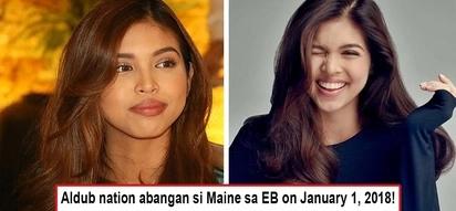 Confirmed! Balik Eat Bulaga na si Maine sa January 1, 2018 and she's hotter than ever