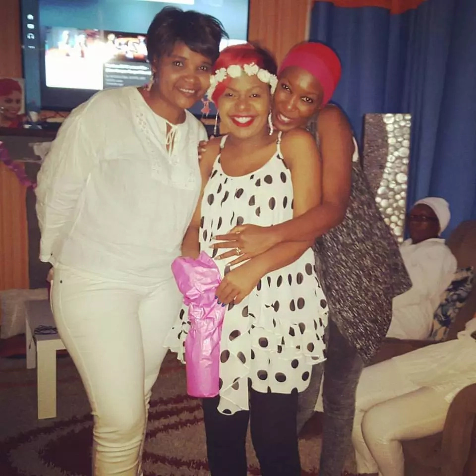 Size 8 Is Proud Mother Of Baby Ladasha Belle