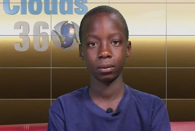 Gamungu during a TV interview about his heroic act
