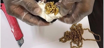 Bizarre! Man, 45, caught with kilo of gold stuffed up his backside after 'walking awkwardly'