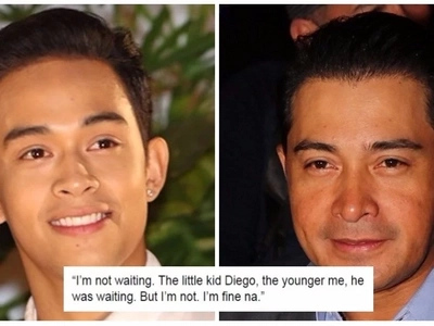 Diego Loyzaga moves out of Cesar Montano's house, rift between father & son still unresolved