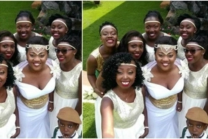 After Tanya, another Tahidi high actress says 'I DO' in a lovely wedding (photos)