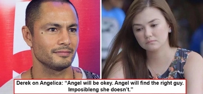 'Angel' pa rin tawag niya! Derek Ramsay has only one wish for ex-girlfriend Angelica P., 'I hope she'll find the right guy who'll treat her right'