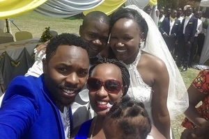 Photos: Popular Churchill show comedian gets married in a colorful ceremony at Kasarani
