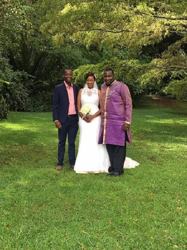 Photos of Willis Raburu's wife