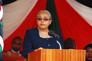 See latest Margaret Kenyatta fashion that has Kenyans talking