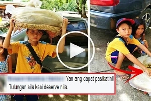 Watch these 2 cute Pinoy siblings sell corn to earn money for their poor family! Their video will break your heart!
