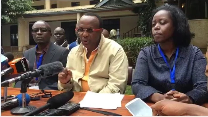 Plain cloth police officers detained at NASA tallying center and TUKO.co.ke has the details