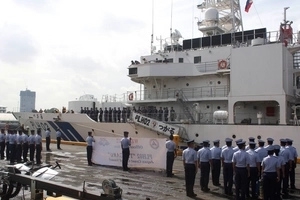 10 Japanese rescue ships on the way for the Philippine Coast Guard