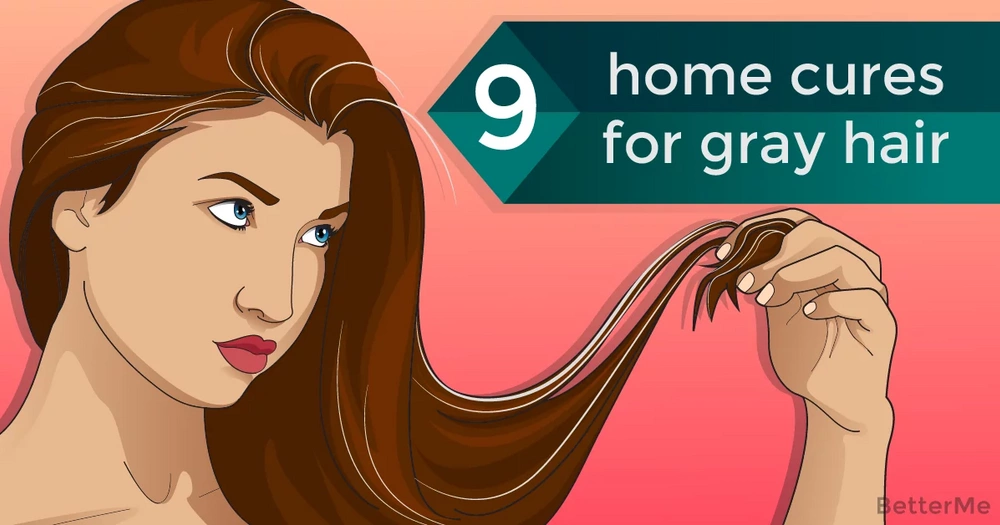 9 effective home remedies to get rid of gray hair