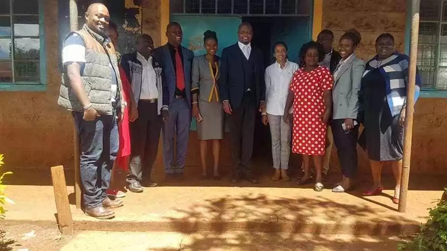 Moses Kuria spotted with Uhuru's daughter in Gatundu South and Kenyans cant keep calm