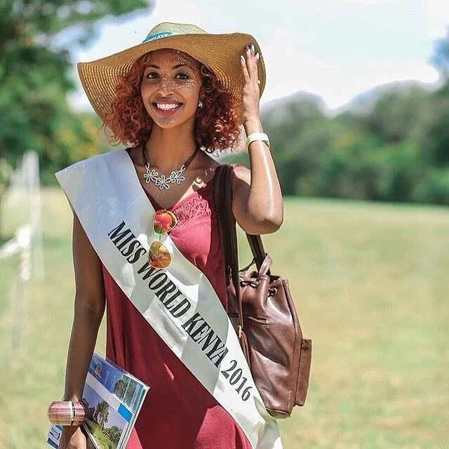 Miss World Kenya denies dating Moses Kuria